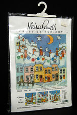 Michael Powell Street Cross Stitch Art Kit NIP Evenweave 2001 X1