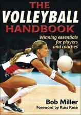 The Volleyball Handbook-ExLibrary