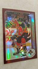2002-03 Topps Chrome REFRACTOR Kristian Huselius Card 54