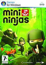 Computer PC Spiel Mini Ninjas DVD Versand NEU