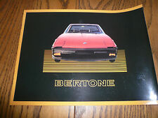 1987 Bertone Sales Brochure