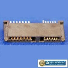 Slimline SATA 13 Pin Female Connector Solder Socket for Cable Mount