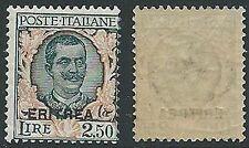 1926 ERITREA FLOREALE 2,50 LIRE MNH ** - K032