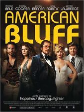 Affiche 120x160cm AMERICAN BLUFF /…HUSTLE 2014 Lawrence, Bale, De Niro NEUVE