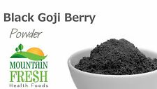 Black Goji Berry Powder - Superfood Supplement 25g FREE UK Delivery