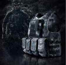 TYPHON Tactical FSBE AAV Assault Vest Kryptek SWAT Black Special Forces Airsoft