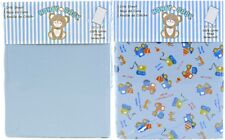 Honey Baby Road Work Toddler Bed or Crib Sheets 2-Pack (100% Cotton)