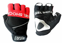 GEL SHOCK CYCLING / CYCLE / BIKE / BICYCLE / MTB / SPORTS GYM / GLOVES / MITTS