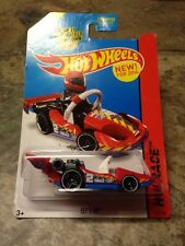 Hot Wheels 2014 165/250 Racing Red Let's Go Go Cart