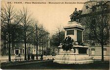 CPA PARIS 17e-Place Malesherbes-Monument de Alexandre Dumas (322513)