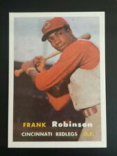Frank Robinson Baltimore Oriole Show Giveaway 1957 Topps rookie Baseball Card