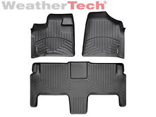 WeatherTech® FloorLiner - Dodge Grand Caravan 2nd Row w/ Bucket -2008-2012-Black