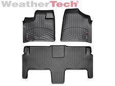 WeatherTech® FloorLiner - Dodge Grand Caravan 2nd Row w/ Bucket -2008-2012-Black