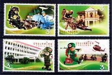 Thailand MNH 4v, Red Cross, Medicine, Army, Helicopter Ambulance , - Rs87