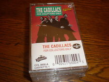 Cadillacs CASSETTE NEW For Collectors Only