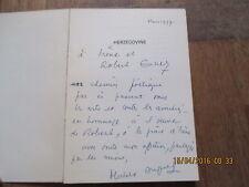 MICHELINE DUPRAY  #  herzgovine  1977 + envoi formes et langages