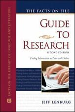 The Facts on File Guide to Research (Good Writing)