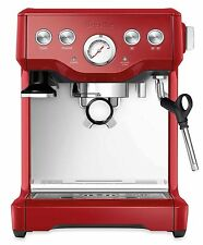 Breville BES840XL Red Infuser Espresso Stainless Steel Coffee Machine - NEW