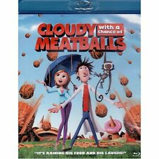 CLOUDY WITH A CHANCE OF MEATBALLS BLU RAY AND ULTRAVIOLET - NEW!!