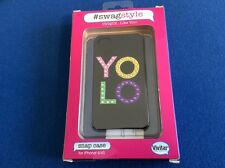 cell phone protective case, for iPhone 4/4S, hard shell protection, black YoLo
