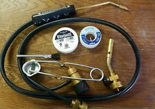 Bernzomatic Torch Kit - Striker - Flux Brush Solder - OX2550 - Basic Torch Head