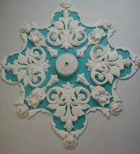 Plaster Ceiling Rose/ Design, Art deco style,hand made,50 diameter,home decor