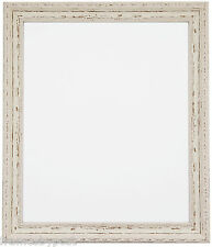 Shabby Chic Distressed White Black White Gold & Silver Picture Frames AP3025