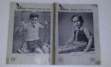Knitting Patterns - Patons   366  - Jumpers for Boys