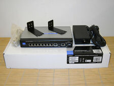 NEW Cisco Linksys SRW208MP Small Business Managed Switch w. 8x 802.3af PoE NEU
