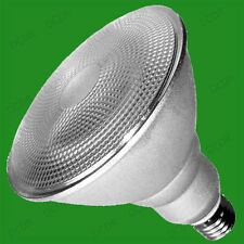 1x 20W PAR38 CFL Low Energy Spot Light Bulb, Warm White 2700K, ES E27 Screw Lamp