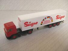 Wiking 541 00 MAN Container truck Sugro Getranke susswaren Tabakwaren