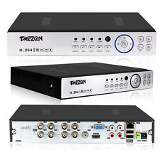 Tmezon 8CH 1080P DVR 5-IN-1 AHD/CVI/TVI/Analog Standalone CCTV Security System