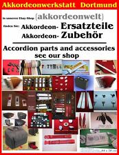 Akkordeonteile, piezas de recambio, accesorios, accordion parts, Accessories (1) paño