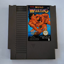 Jeu WORLD WRESTLING (Catch) pour Nintendo NES