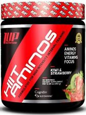 1 UP Nutrition HIIT AMINOS BCAAs, Energy, Recovery - 30 Servings KIWI STRAWBERRY