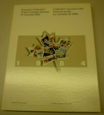 Official Canada 1984 Hardcover Souvenir Postage Stamps With 2 Albums