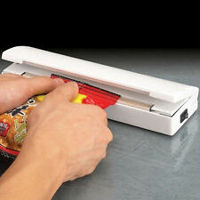 Mini Heat Sealing Machine Glitzy Impulse Sealer Seal Packing Plastic Bag Tool
