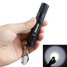 2000LM LED Pocket Flashlight 3 Modes Keychain Keyring Penlight Torch Portable
