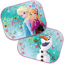 2 x NEW DISNEY FROZEN Window Car Sun Shades UV Blinds Visor Children Kids Baby