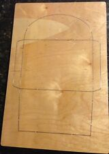 A7 Envelope wooden die fits Accucut Ellison Studio Machines