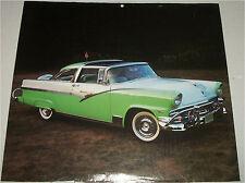 1956 Ford Crown Victoria car print (green & white)