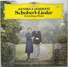 LP Gundula JANOWITZ, Gage / Schubert Lieder / DGG 2530 858, Germany 1977 NM