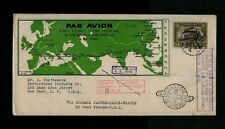 1936 China National Aviation First Flight Shanghai to Canton to Marseille France