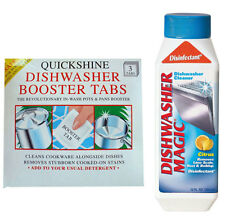 Dishwasher Magic 350ml Cleaner Freshener and Descaler with FREE Booster Tablets