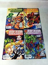 HEROES REBORN #1,2,3,4 full set SPIDER-MAN AVENGERS, IRON MAN 1997, PETER DAVID