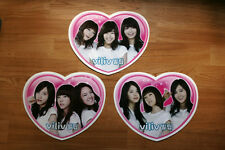 SNSD Viliv Heart Shape Double Sided Promo Poster Set Girl's Generation