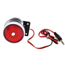 Wired Mini Siren for Home Security Alarm System Horn Siren 120dB 12V SYSZAU