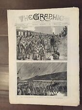 """""""THE GRAPHIC"""" (A Beautifully Illustrated British Weekly Newspaper)--Sept. 3,1881"""