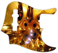 J Bass Pickguard Custom Fender Graphic Graphical Guitar Pick Guard Amber Glass