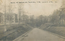 IL * Great Lakes Naval Training Station  1913  RPPC  Ravine on Hospital Side USN